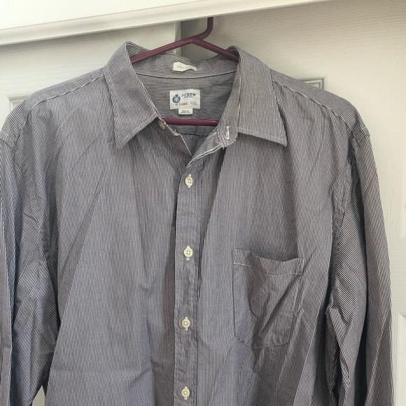 Men's J Crew LS button up dress shirt